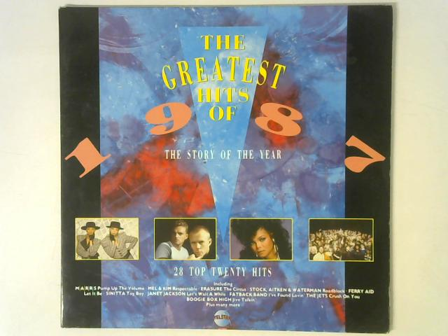 The Greatest Hits Of 1987 2x LP By Various