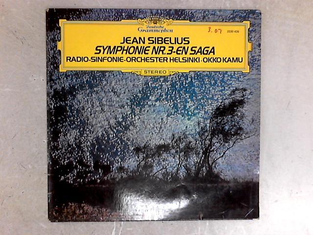 Symphonie Nr. 3 / En Saga LP By Jean Sibelius