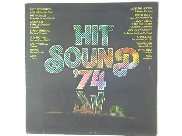 Hit Sound '74 LP By Various