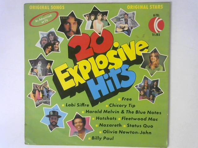 20 Explosive Hits LP By Various