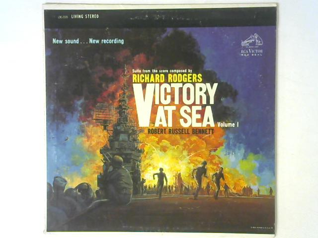 Victory At Sea Volume 1 LP By Richard Rodgers