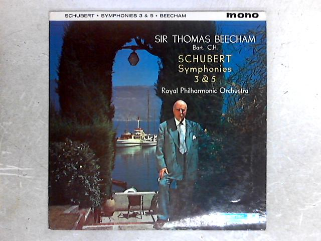 Symphonies Nos. 3 And 5 LP By Sir Thomas Beecham
