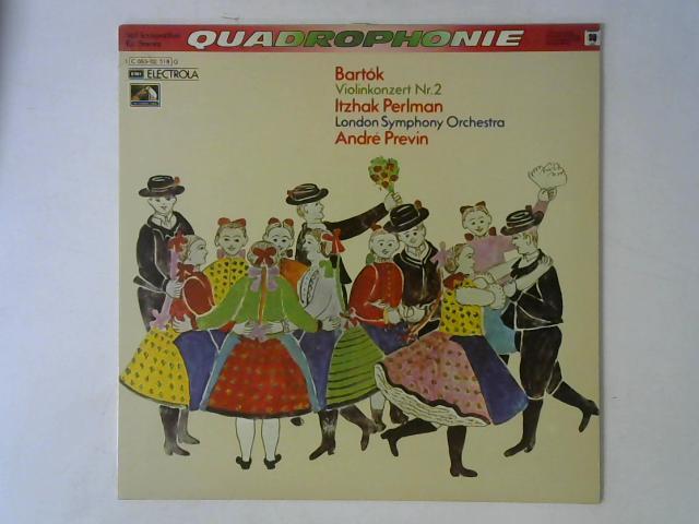 Violinkonzert Nr. 2 LP Quad By Bla Bartk