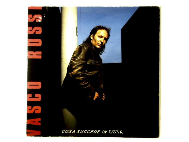 Cosa Succede In Città LP + PRINTED INNER SLEEVE AND INSERT By Vasco Rossi