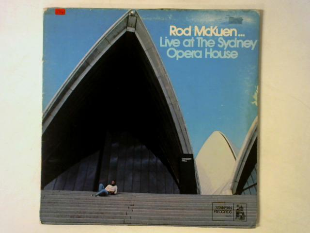 Live At The Sydney Opera House LP GATEFOLD + POSTER By Rod McKuen