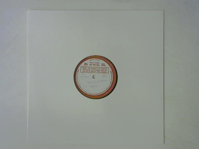 Memories Of America / Ode To The Little Brown Shack Out Back LP TEST PRESS By Billy Edd Wheeler