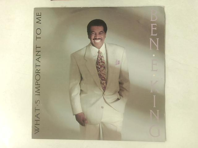 What's Important To Me 12in Single By Ben E. King