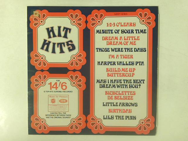Hit Hits LP By Unknown Artist