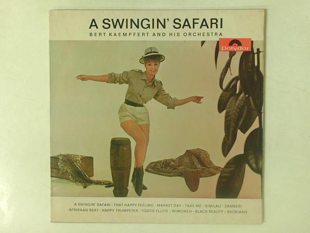 A Swingin' Safari LP By Bert Kaempfert & His Orchestra