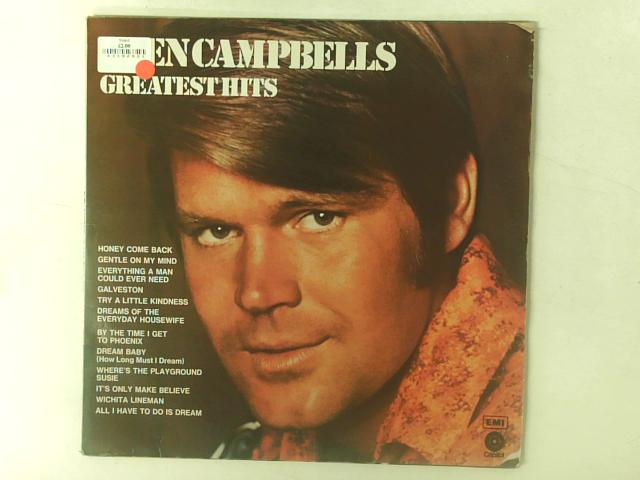 Glen Campbells Greatest Hits Comp By Glen Campbell
