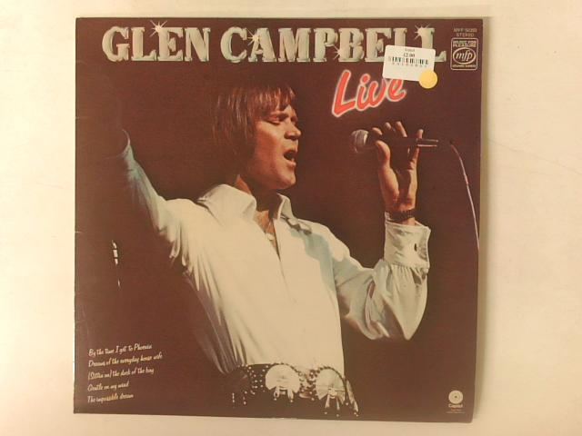 Live LP By Glen Campbell