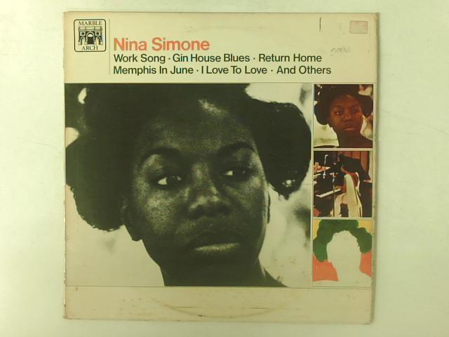 Nina Simone LP Comp By Nina Simone