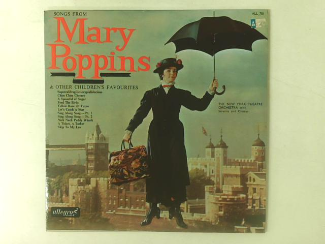 Songs From Mary Poppins LP By The New York Theatre Orchestra