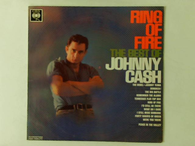 Ring Of Fire - The Best Of Johnny Cash LP By Johnny Cash