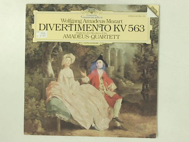 Divertimento KV 563 LP By Wolfgang Amadeus Mozart