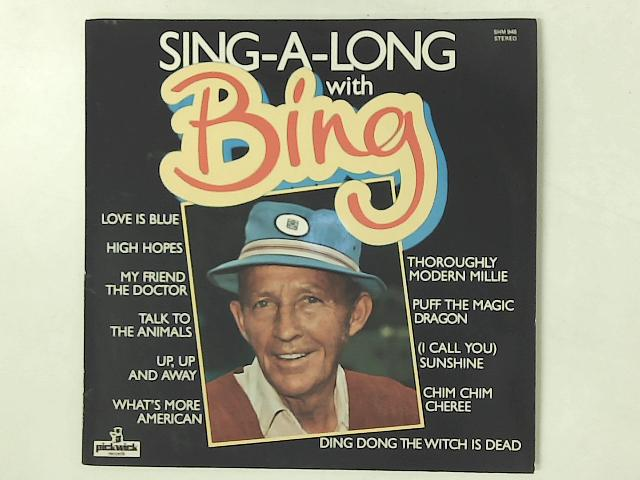 Sing-A-Long With Bing LP By Bing Crosby
