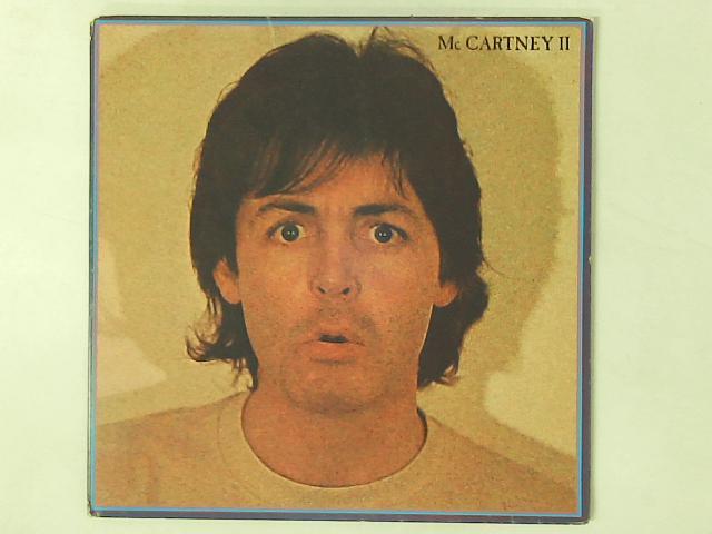 McCartney II LP GATEFOLD By Paul McCartney