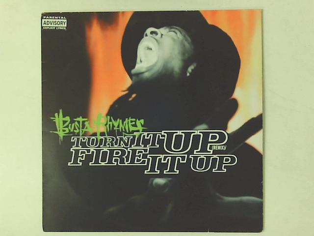 Turn It Up (Remix) / Fire It Up 12in By Busta Rhymes