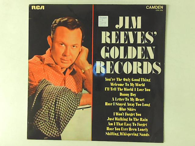 Jim Reeves' Golden Records LP COMP By Jim Reeves