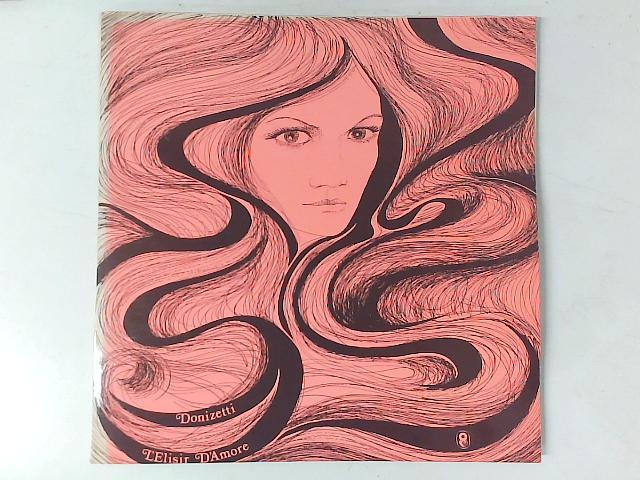 L'Elisir D'Amore 2x LP By Gaetano Donizetti