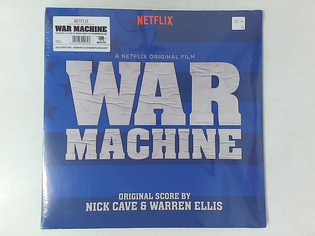 War Machine (Original Score) 2xLP SEALED By Nick Cave & Warren Ellis