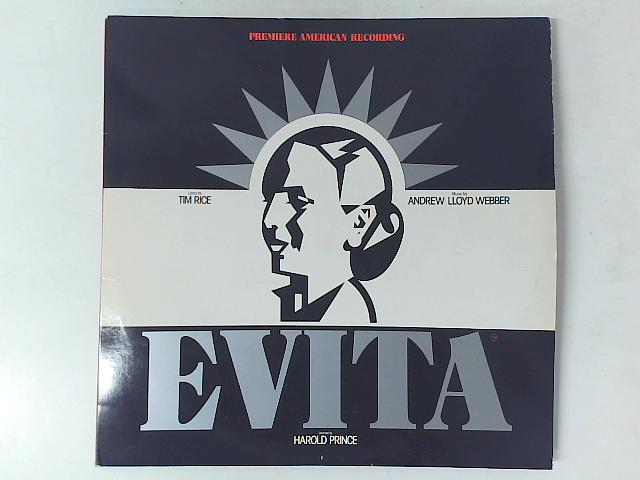 Evita: Premiere American Recording 2x LP By Andrew Lloyd Webber