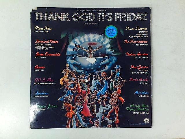 Thank God It's Friday (The Original Motion Picture Soundtrack) 2xLP and 12in By Various