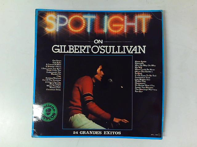 Spotlight On Gilbert O'Sullivan 2xLP COMP SPANISH PRESS By Gilbert O'Sullivan