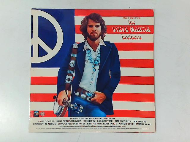 The Steve Martin Brothers LP By William E. McEuen