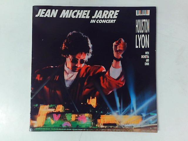 In Concert Houston/Lyon LP GATEFOLD By Jean-Michel Jarre