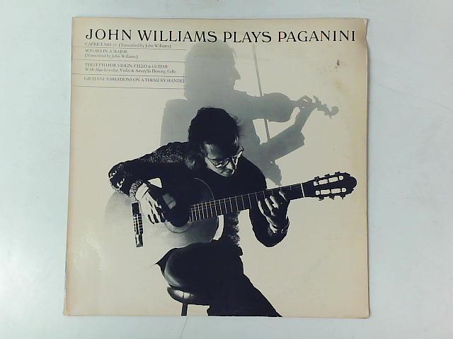 Plays Paganini LP By John Williams (7)