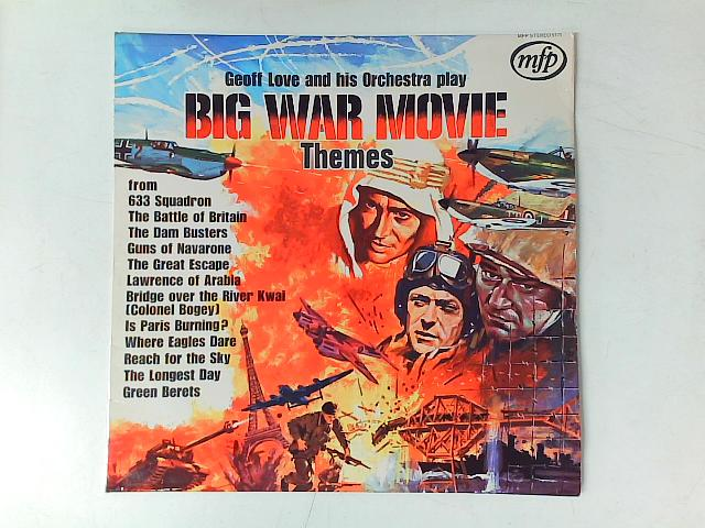 Big War Movie Themes LP By Geoff Love & His Orchestra