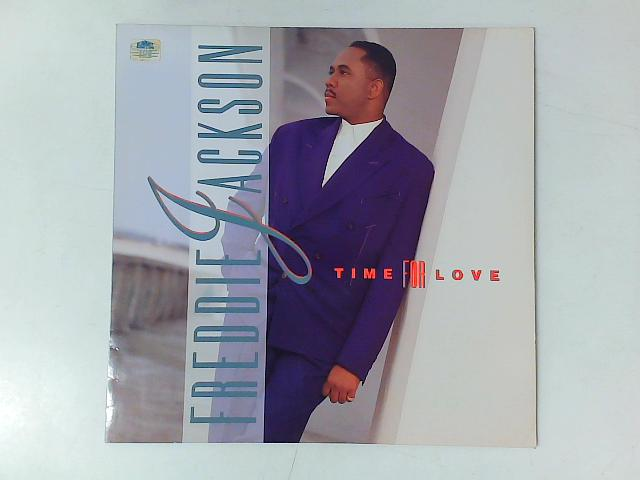 Time For Love LP with PRINTED INNER SLEEVE By Freddie Jackson