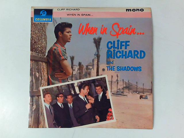When In Spain LP MONO By Cliff Richard & The Shadows & The Norrie Paramor Strings