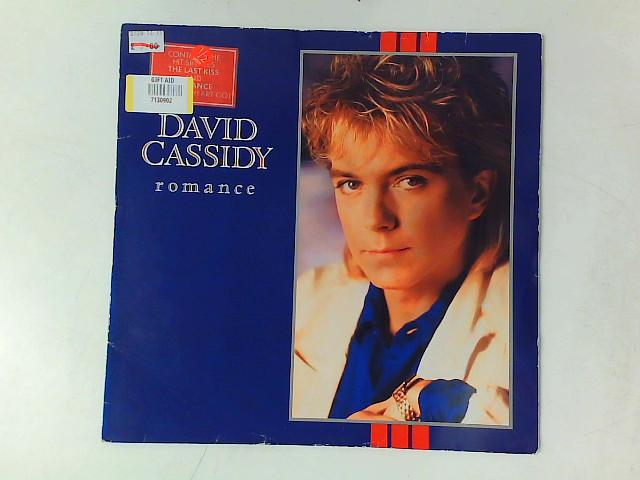 Romance LP with PRINTED INNER SLEEVE By David Cassidy