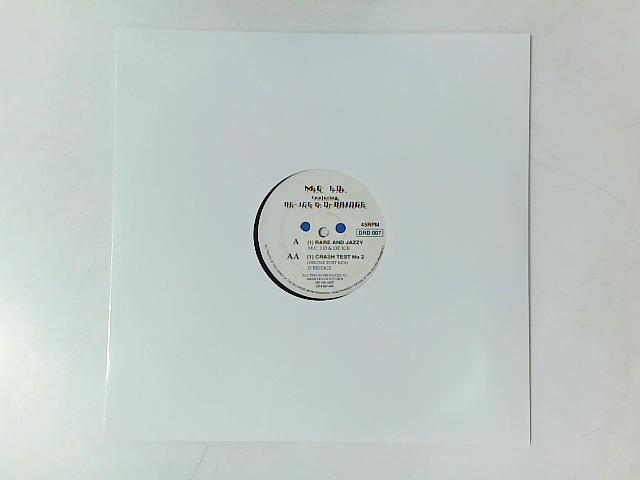 Rare And Jazzy / Crash Test No 2 12in By MC I.D