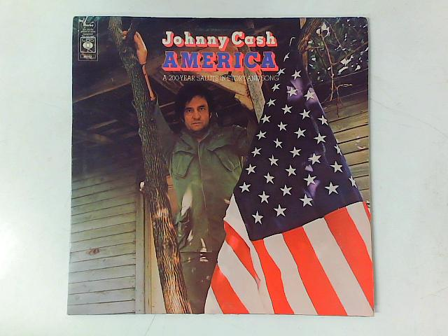 America - A 200-Year Salute In Story And Song LP GATEFOLD By Johnny Cash