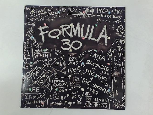 Formula 30 2xLP COMP GATEFOLD By Various