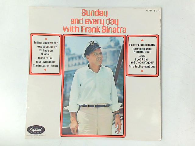 Sunday And Everyday With Frank Sinatra LP By Frank Sinatra