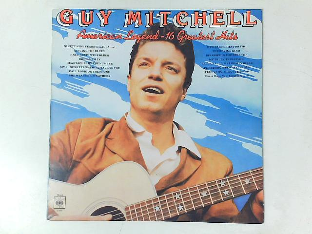 American Legend – 16 Greatest Hits LP COMP By Guy Mitchell