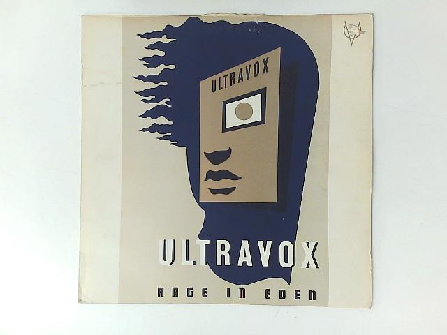 Rage In Eden LP with PRINTED INNER SLEEVE By Ultravox