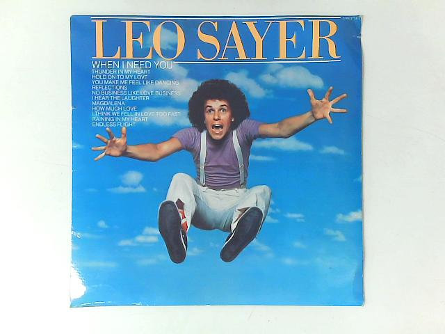 When I Need You Comp By Leo Sayer