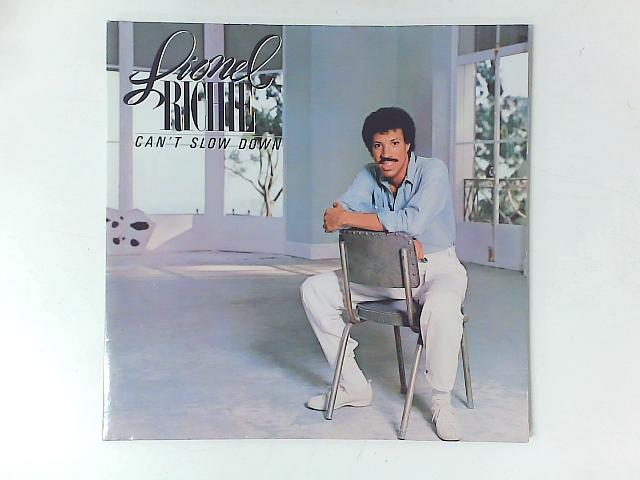Can't Slow Down LP GATEFOLD with PRINTED INNER SLEEVE By Lionel Richie