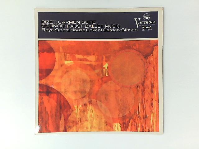 Carmen Suite / Faust Ballet Music LP By Georges Bizet