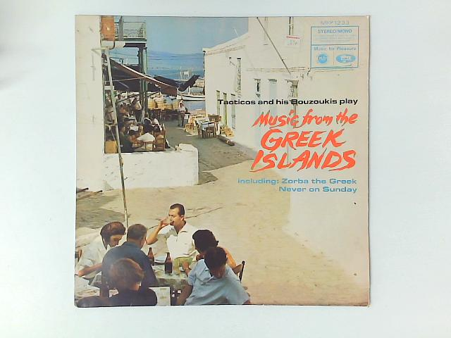 Music From The Greek Islands LP By Tacticos And His Bouzoukis