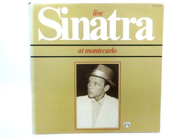 Live At Montecarlo LP By Frank Sinatra
