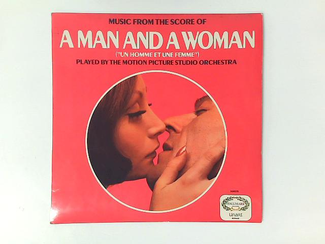 """Music From The Score Of A Man And A Woman (""""Un Homme Et Une Femme"""") LP By The Motion Picture Studio Orchestra"""