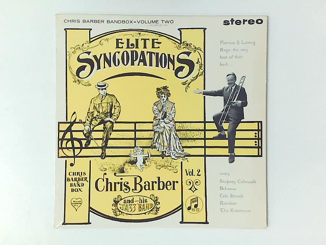 Elite Syncopations (Chris Barber Bandbox-Volume Two) LP By Chris Barber's Jazz Band