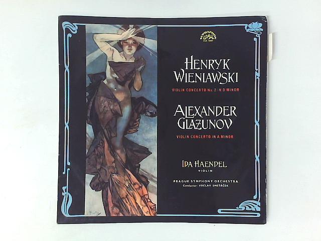 Violin Concerto No. 2 In D Minor / Violin Concerto In A Minor LP By Henryk Wieniawski