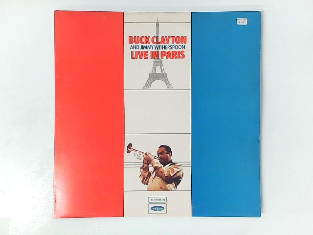 Live In Paris 2xLP GATEOLD By Buck Clayton